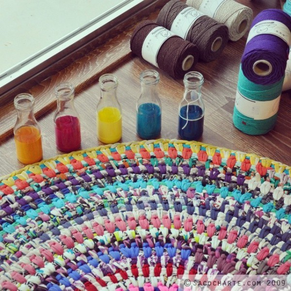 T cnicas de tejido de alfombras info for Tejidos de alfombras